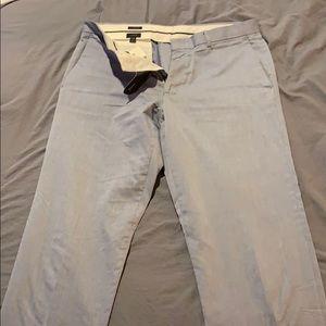 J. Crew Pants - J Crew ludlow 32x34 Seersucker pants
